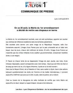 Communique presse Lyon1er